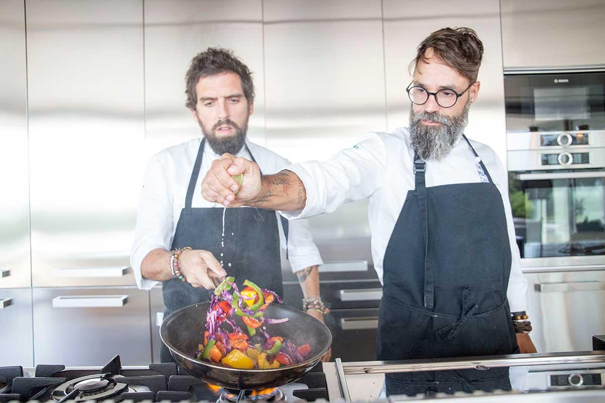 Formación gastronómica - Carlos Medina y Tomi Soriano
