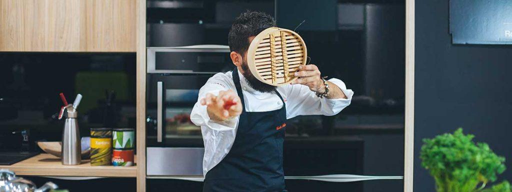 Equipamiento de cocina profesional